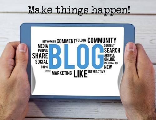 ¿Cómo escribir un post en mi blog? (I)